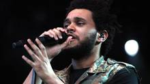 The Weeknd is seen here performing at the RBC Royal Bank Bluesfest in Ottawa on Sunday, July 15, 2012. (PATRICK DOYLE/THE CANADIAN PRESS)