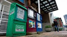 The distribution deal with Gateway Newstands 'allowed Metro to not only survive but to thrive and grow' after its launch in 2000. (DARRYL DYCK For The Globe and Mail)