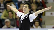 Patrick Chan skates during the Men short program at the Canadian Figure Skating Championships in Moncton, New Brunswick, January 21, 2012. (MIKE CASSESE/REUTERS)