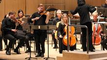 Violinist Pekka Kuusisto at Toronto Symphony's New Creations Festival (Josh Clavir)