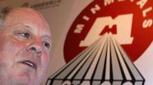 Minmetals Resources chief executive officer Andrew Michelmore. (BOBBY YIP/Bobby Yip/REUTERS)