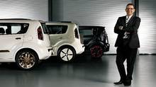 Peter Schreyer says the Kia Soul will attract people to the brand.