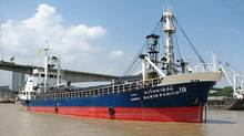 The Harin Panich 19, renamed the MV Sun Sea. (Marinetraffic.com/ The Globe and Mail/Marinetraffic.com/ The Globe and Mail)