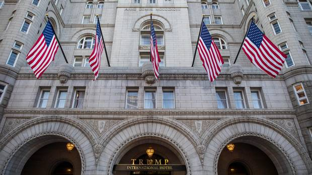 Might the Trump International in Washington be the go-to hotel for visiting dignitaries seeking to ingratiate themselves?