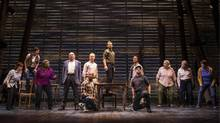 The cast of Come From Away on Broadway. (Matthew Murphy)