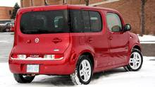 2010 Nissan Cube (Dan Proudfoot for The Globe and Mail)