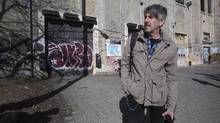 MoCCA artistic director and curator David Liss saw beyond the Sterling Road building's decrepit state. (Peter Power For The Globe and Mail)