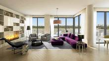 The Perry, suite rendering. (Mansouri Living/Mansouri Living)