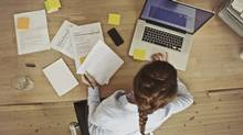 Young woman at work. Gen Y and career (thinkstock.com)