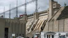 The Mactaquac Hydro Electric Dam is shown near Fredericton on July 27, 2010. For the past 45 years, the Mactaquac Hydroelectric Dam has been a reliable and clean source of power in New Brunswick, but faulty concrete is forcing NB Power to decide its future well ahead of the century it was expected to last. (Kevin Bissett/The Canadian Press)