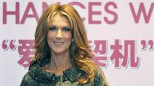 Dion has practised her Mandarin for a duet with a Chinese soprano during Saturday's TV gala. (The Associated Press)