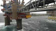 A Statoil platform. (Harald Pettersen/Statoil)