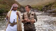 Amr Waked and Ewan McGregor star in Salmon Fishing In The Yemen. (Michael Tackett/Handout)