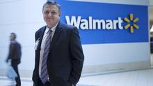 'We are going into areas where the urban customers might never have seen a Wal-Mart,' says COO Jim Thompson, seen here at the new store that replaces a Zellers at the Cedarbrae Mall in Scarborough, a multicultural suburb of Toronto. (Michelle Siu For The Globe and Mail)