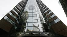 The American International Group (AIG) building in New York. (Brendan Mcdermid/REUTERS)