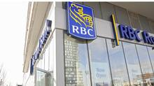 Exteriors of the new Regent Park RBC branch in Toronto, Ont. (Kevin Van Paassen/Kevin Van Paassen/The Globe and Mail)