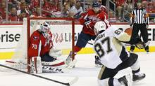 Penguins Beat Capitals 2-1 To Tie Series 1-all