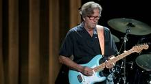 British guitarist Eric Clapton performs in Hong Kong on February 18, 2011 (ED JONES/Ed Jones/AFP/Getty Images)