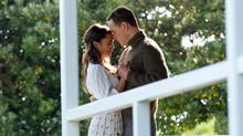 Alicia Vikander, left, and Michael Fassbender in a scene from The Light Between Oceans. (Davi Russo/Dreamworks II via AP)