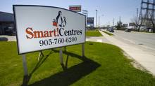 SmartCentres Inc. will start testing online purchase stations in three of its Toronto-area shopping centres. (Fred Lum/The Globe and Mail)