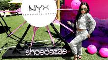 Social media influencer Aaliyah Jay attends JustFab & ShoeDazzle in Coachella Valley on April 15, 2017 in Thermal, California. (Randy Shropshire/Getty Images for Techstyle, Inc.)