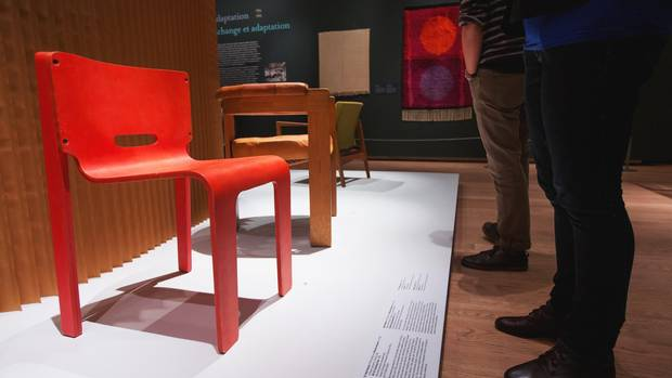 Stacking Chair by Keith Muller and Michael Stewart and Thomas Lamb's Roo Chair.