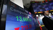 The Maple Group consortium of Canadian banks and brokerages launched its attempt to win TMX on May 13 of last year. Now, Maple's backers have a week until the merger contract struck with TMX last year expires on April 30, and must be renewed. (Deborah Baic/The Globe and Mail/Deborah Baic/The Globe and Mail)