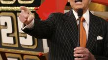 Television game show host Bob Barker interacts with the audience during a live taping of 'The Price Is Right' at the CBS Studios in Los Angeles, Tuesday, Oct. 31, 2006. (DAMIAN DOVARGANES/AP)