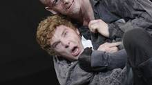 Just $30 bought a ticket to see Benedict Cumberbatch and Jonny Lee Miller in Danny Boyle's Frankenstein. (Catherine Ashmore)