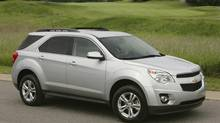 2011 Chevrolet Equinox. (General Motors)