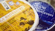 La Sauvagine, a Saputo cheese, is shown in a file photo. (Christinne Muschi For The Globe and Mail)