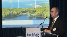 Brookfield chief executive Richard Legault says Ireland is just the company's first step to more European acquisitions. (NATHAN DENETTE/The Canadian Press)