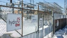 The Hydro One Pleasant Transfer Station is seen here in Brampton, Ontario Monday March 9, 2015. (Tim Fraser For The Globe and Mail)