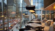 The view from Daisho's dining room, (Moe Doiron/The Globe and Mail)