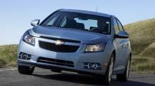 2013 Chevrolet Cruze LTZ (General Motors)