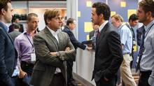 Right now, bankers' antics are entering popular consciousness through the medium of a movie, The Big Short. (Jaap Buitendijk/AP)