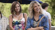 Fox's The Mick centres on Mickey Murphy, played by Kaitlin Olson, right, teaching her rich, bratty familiy members about life as experienced by the not-so-rich.