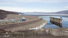 The W.A.C. Bennett Dam on the Peace River is pictured on April 19, 2010 in Hudson's Hope, B.C. (Jonathan Hayward/THE CANADIAN PRESS)