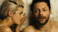 "Agyness Deyn plays a stripper and Richard Coyle a drug dealer in ""Pusher."""