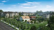 The Ridge at Bose Farms is a four-phase development that will that take about three years to build.