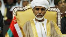 Oman's leader Sultan Qaboos bin Said attends the opening of the Gulf Cooperation Council (GCC) summit in Doha in this 2007 file photo. Oman is trying to curb its level of foreign workers, though Sultan Qaboos acknowledged that large numbers of foreign workers are needed for industrial development and construction of a national railway. (FADI AL-ASSAAD/REUTERS)