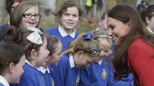 The Duchess of Cambridge has made a list, but she's not sharing the names on that list. (Danny Lawson/AP)