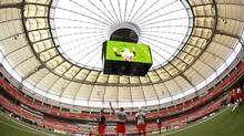 BC Place stadium in Vancouver, September 29, 2011. (Jeff Vinnick for The Globe and Mail/Jeff Vinnick for The Globe and Mail)
