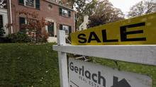 A home is seen for sale in the Washington suburb of Takoma Park, Maryland, in this file photo. (JIM BOURG/Reuters)