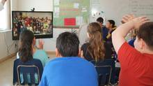 Ten video screens will be placed in remote health centres in Nunavut to connect them with a team of 10 SickKids psychiatrists in Toronto. (Cisco)
