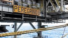 The Statoil Peregrino platform off the coast of Brazil (Anette Westgard/Statoil)