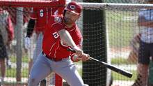 Cincinnati Reds' Joey Votto was at his best in the second half of last season, but Cincinnati still lost 98 games over all and finished last in the NL Central. (Ross D. Franklin/AP Photo)