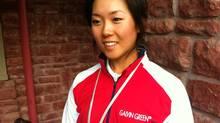 Canadian LPGA player Rebecca Lee-Bentham (Jeff Brooke)