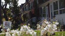 Housing sales in the GTA declined by 15 per cent in the first two weeks of September compared with the same period last year. (Galit Rodan/The Globe and Mail)
