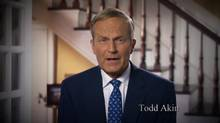 Republican congressman Todd Akin has apologized in an online video for comments about 'legitimate rape' and pregnancy. (YouTube)